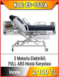 Full Abs 3 motorlu hasta karyolası