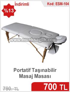 Çantalı masaj masası
