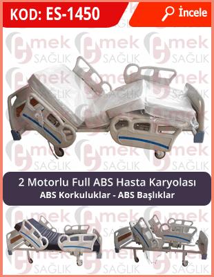 2 motorlu full abs hasta karyolası