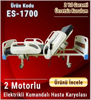 Full ABS Dual Motorlu Hasta Karyolası