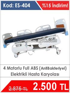 4 Motorlu Full Abs Hasta Karyolası