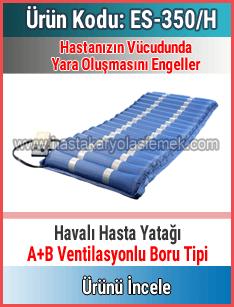 Ventilasyonlu Boru Tipi Havalı Yatak