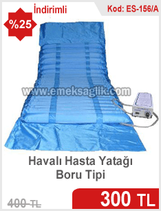 Boru tipi havalı yatak