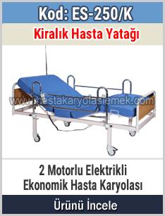 Kiralık elektrikli hasta karyolası