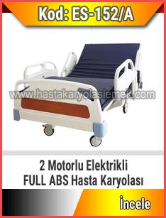 Full Abs 2 Motorlu Hasta Karyolası