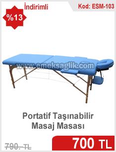 Katlanabilir masaj masası